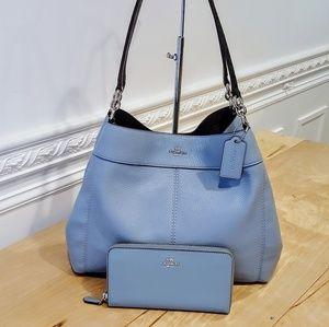 NWT Coach Lexy Shoulder Bag & Wallet